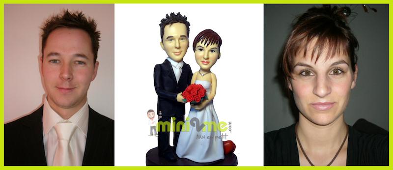 Figurine personnalisée mariage