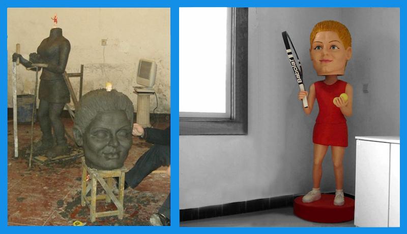 Figurine personnalisée géante